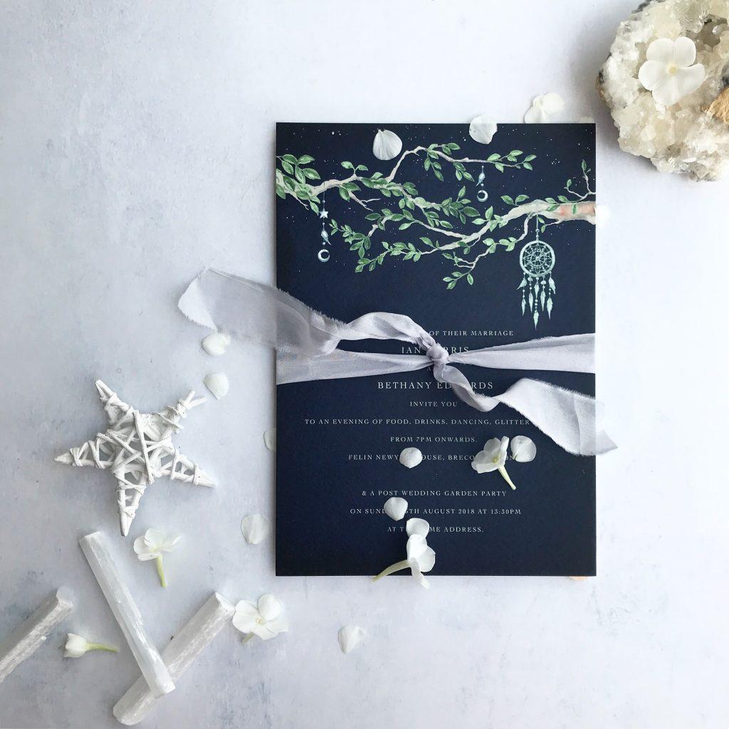 de Winton Paper co bespoke wedding stationery