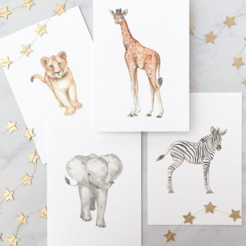 nursery safari full set