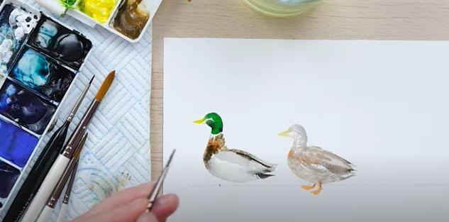 loose watercolour