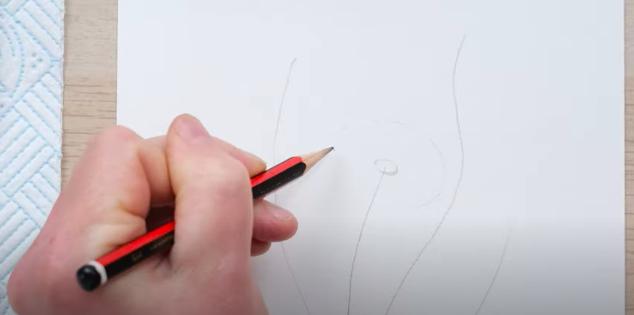 how to paint a watercolour dandelion