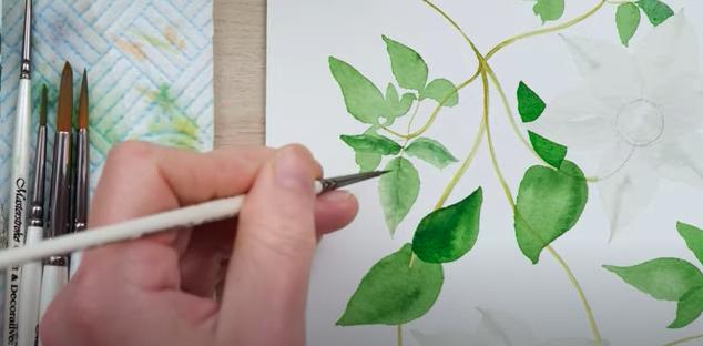 Adding leaf detail