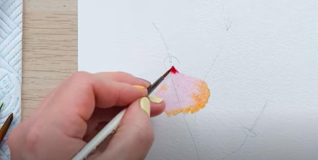 watercolour blending