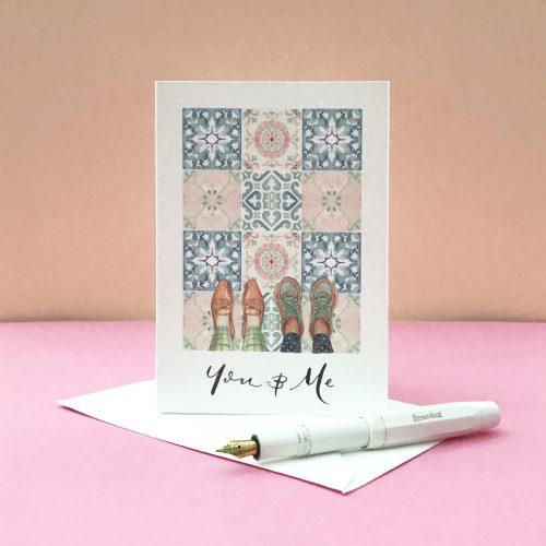 personalised valentines card 2