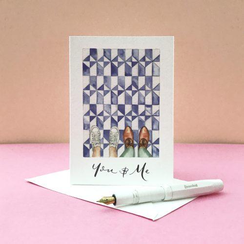personalised valentines card 3
