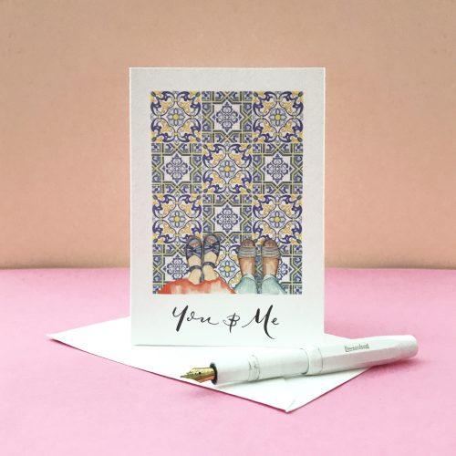personalised valentines card 4
